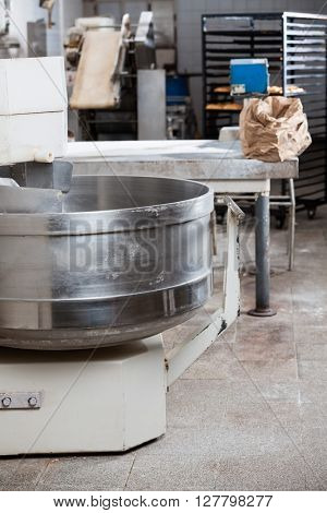 Bread Mixer In Bakery