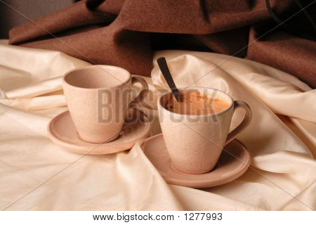 Two Cups Of Cappuchino