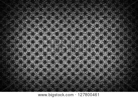 Grey Revetment Wall Putty High Contrasted With Vignetting Effect Macro Texture Background Stars Styl
