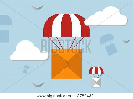 Delivery Parachute