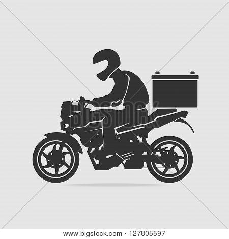 Bike food delivery vector eps 8 file format