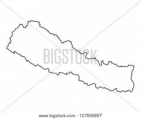 Map Of Nepal