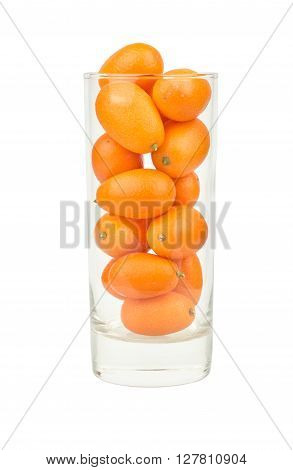 Kumquat Fruit In Glass