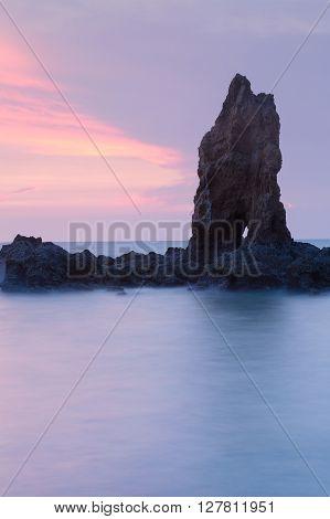 Natural landscape with beauty sky, Rocky Island