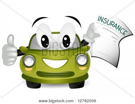 Car Insurance - Vector