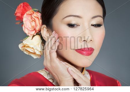 Beautiful Traditional Asian Woman
