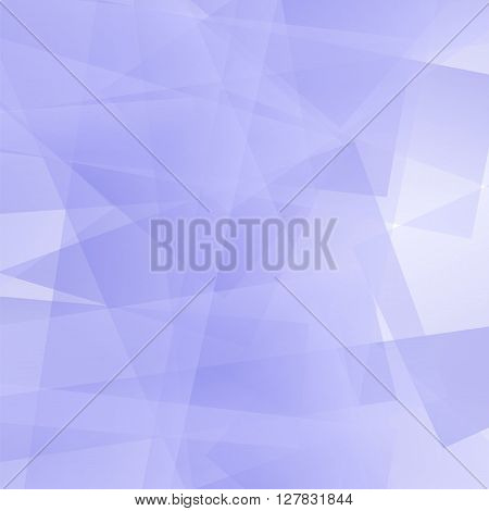 Abstract Blue Polygonal Background. Blue Geometric Pattern