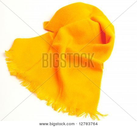 Orangey Yellow Scarf