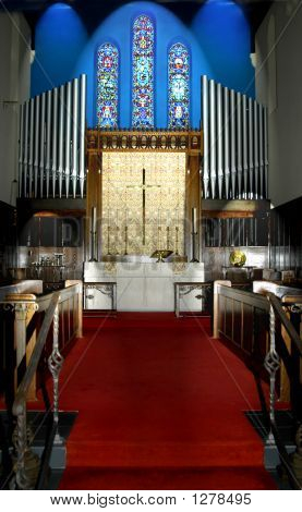 Chapel Before Wedding Ceremony