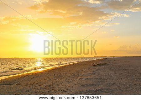 Sundown In Fort Myers Beach