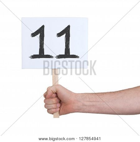 Sign With A Number, 11