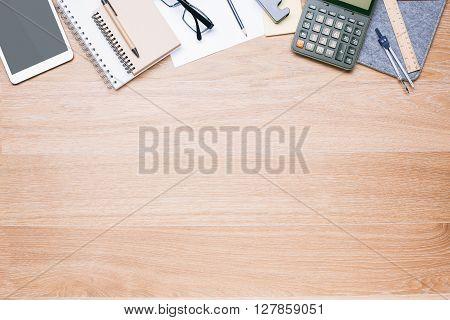 Light Wooden Desktop