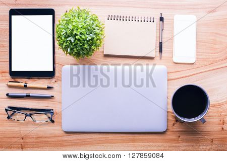 Table With Office Tools