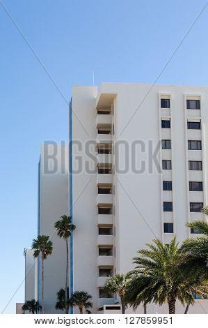 Nice resort hotel on a Florida beach