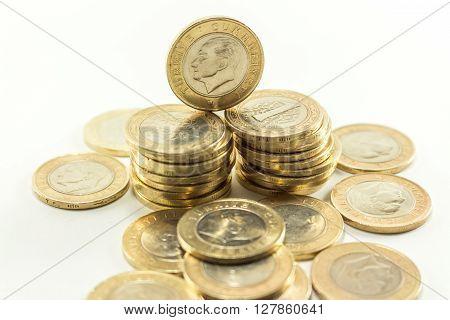 Turkish Lira - Iron Money. 1 Tl