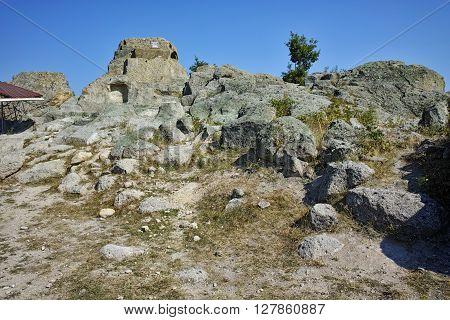 Ruins of Antique Thracian sanctuary Tatul, Kardzhali Region, Bulgaria