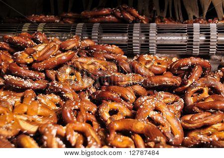 hard baked pretzels