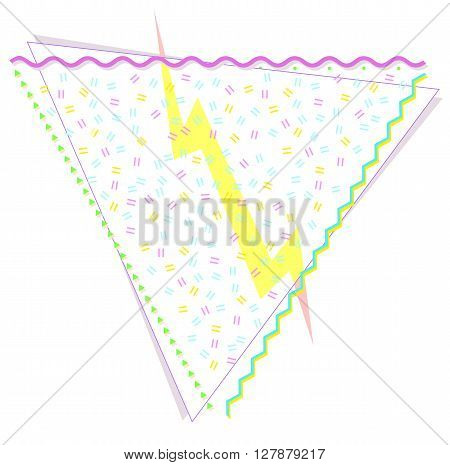 Abstract geometric background design in pastel colors