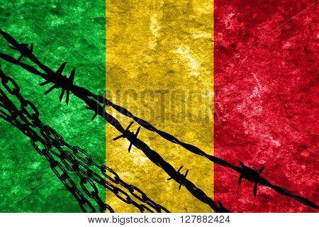 Mali flag
