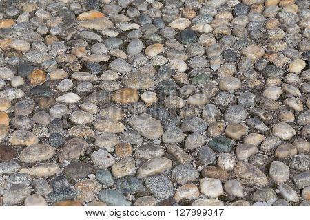 Round Stones In The Ground