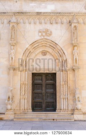 North side portal of St. James cathedral