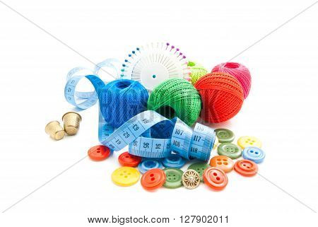Blue Meter, Buttons, Thimbles And Thread