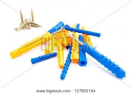 Different Screws And Dowels