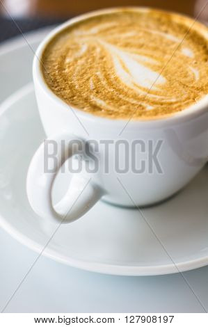 Cup Of Morning Cappuccino