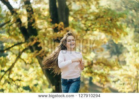 Pretty Happy Girl Preteen