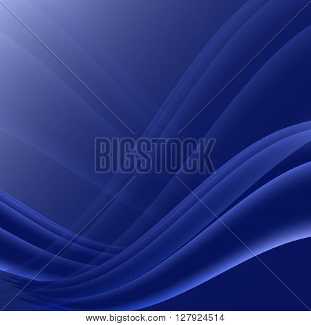Black and blue waves modern futuristic abstract background, stock vector