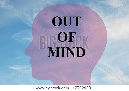 Out Of Mind Mental Concept