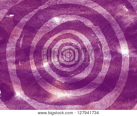 Background pattern of concentric circles. Effect optical illusion