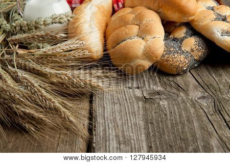 Lot Of Bread With Spikes