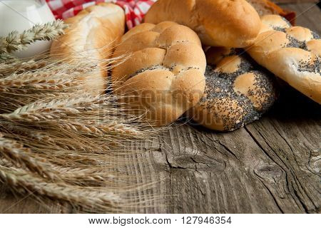 Mix Of Breads With Spikes