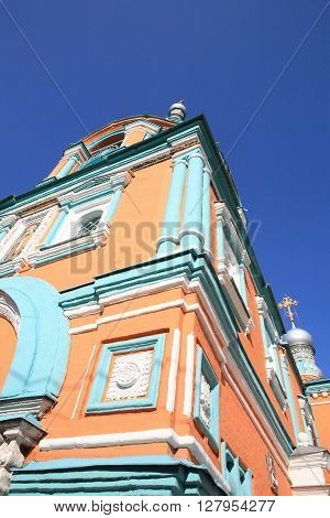 image of one church in the daytime