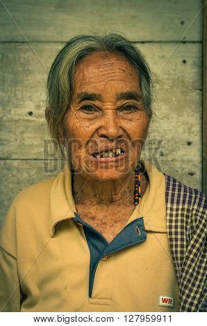 Woman With Wrinkles