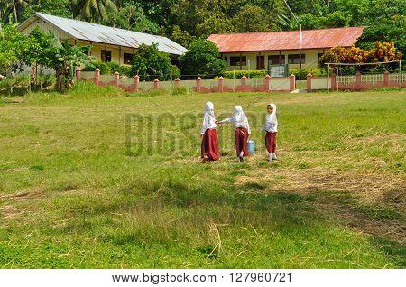 Three Girls In Skirts