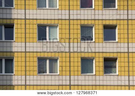 Old Gdr Building Facade