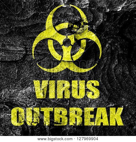 virus outbreak concept background