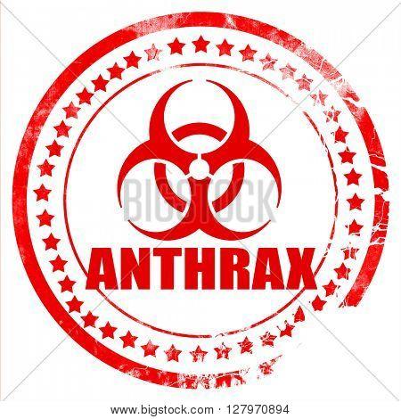 Anthrax virus concept background
