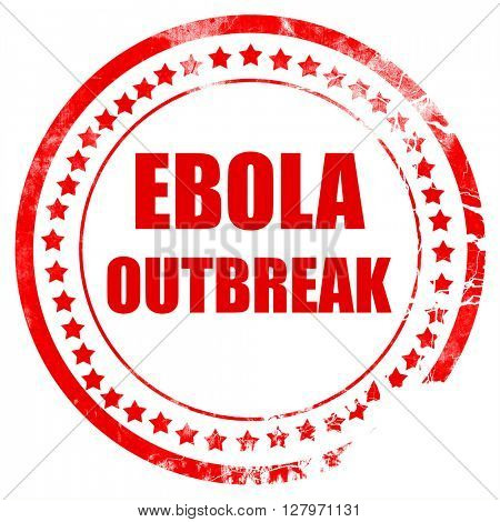 Ebola outbreak concept background