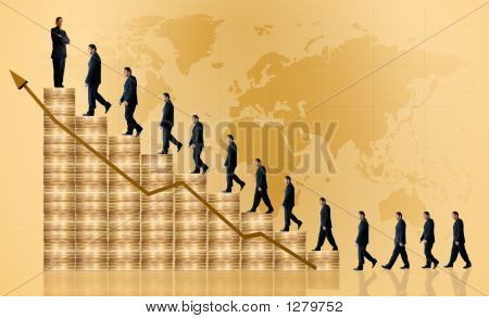 Business Growth And Success - Financial Graph