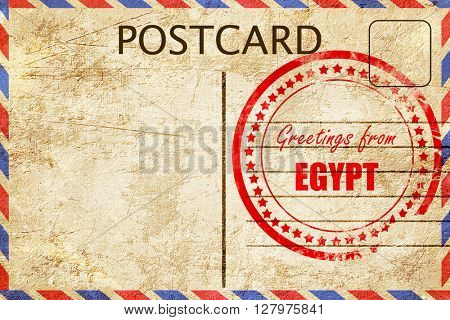 Greetings from egypt