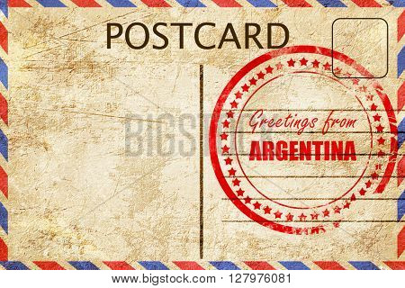 Greetings from argentine