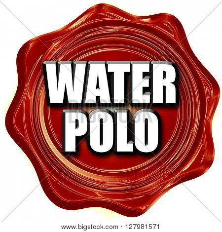 water polo sign background