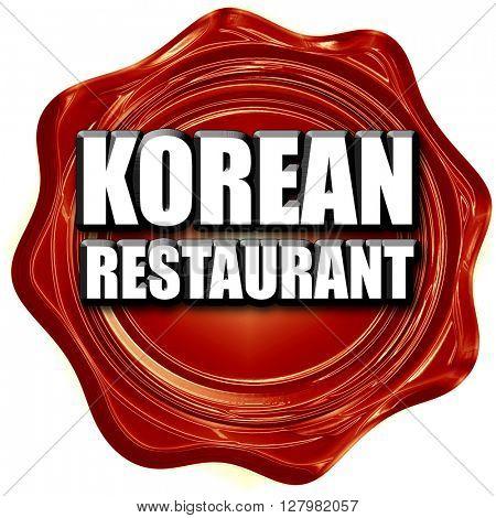 Delicious korean cuisine