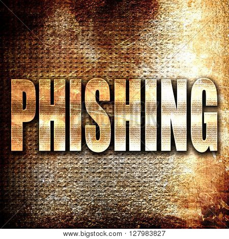 Phishing fraud background