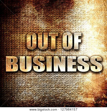 Out of business background
