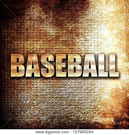 baseball sign background
