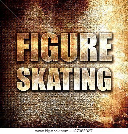 figure skating sign background